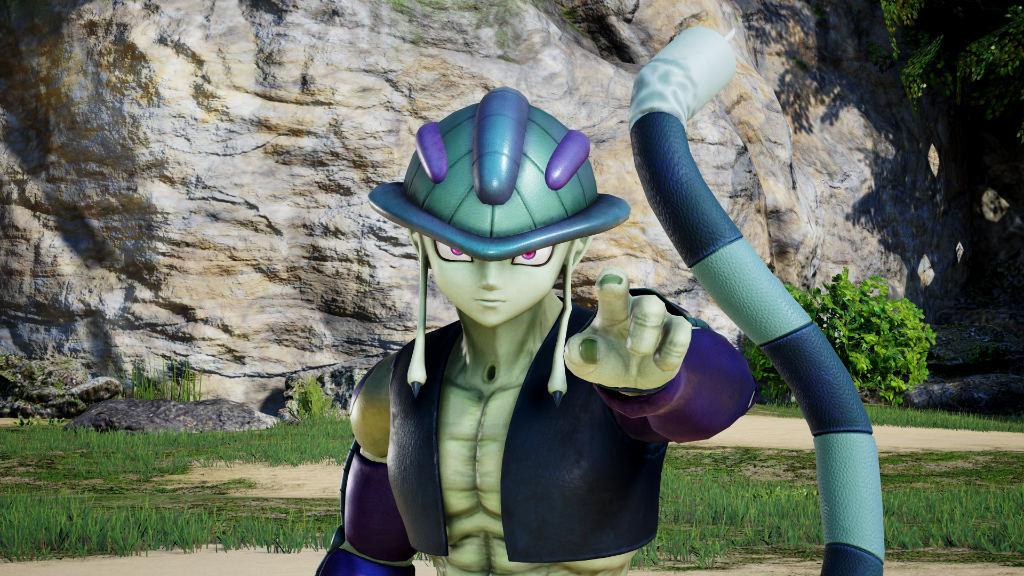 Meruem vs. Cell you know you want to see it. #JumpForce  Meruem is on his way to Jump Force as part of DLC Season 2! Stay tuned for more updates! https://t.co/tpmTsXlGz5 https://t.co/551PECR4Wv