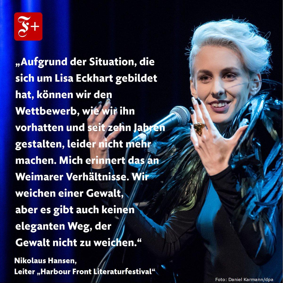 #LisaEckhart