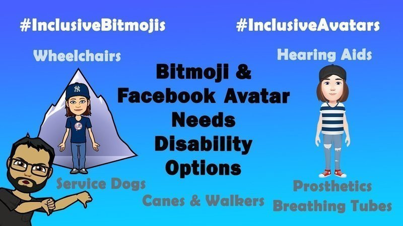 I signed this petition asking Bitmoji and others to include disability options for avatars. How about you? Thanks to @CGoerlich for starting this. https://t.co/Ee27aXGEko #CAedchat #MERIT20 #5DTC #LeadLAP #tlap #distancelearning https://t.co/8FrKxfYzfv