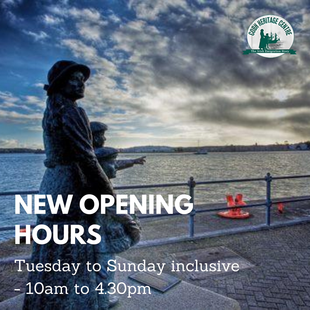 Great news - we are extending our opening days.  We are now open Tuesday - Sunday 10am - 4.30pm (closed Mondays). Hope to see you soon.   #cobh #cobhireland #cobhcork #lovecork #purecork https://t.co/hOarwlL0kH