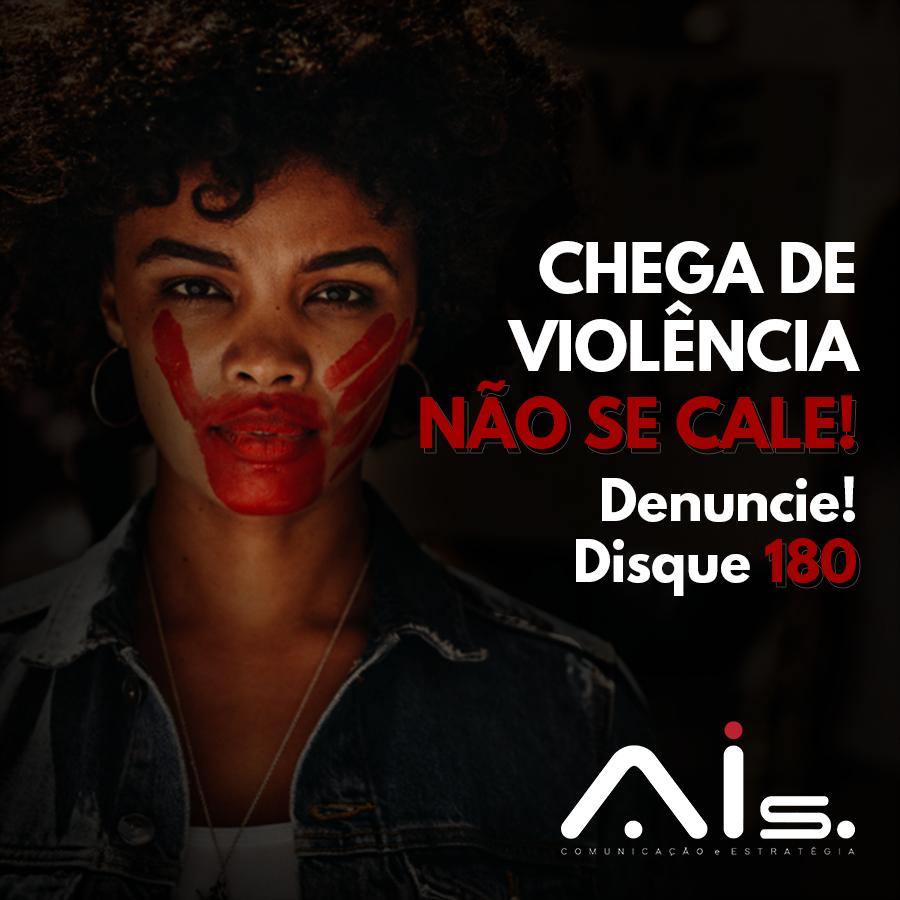 NenhumaMulherAMenos Diga não à violência contra a mulher. 07 de agosto, celebração à Lei Maria da Penha no País. Não se cale, denuncie. Disque 180!  #AIs #Comunicação #LeiMariaDaPenha #Disque180 #Denuncie #NaoSeCale #Combate #PeçaAjuda #ViolenciaContraMulher https://t.co/266e0cby9I