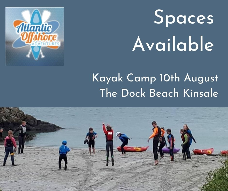 We have just added extra spaces to our Kids Kayak Camps for next week 10th August. Camps are Monday - Friday at 11am and 2pm and you can book directly https://t.co/4XWSHh6FGW Have a great weekend on the water! #purecorkwelcome #staycation https://t.co/x0DpcSsKmo