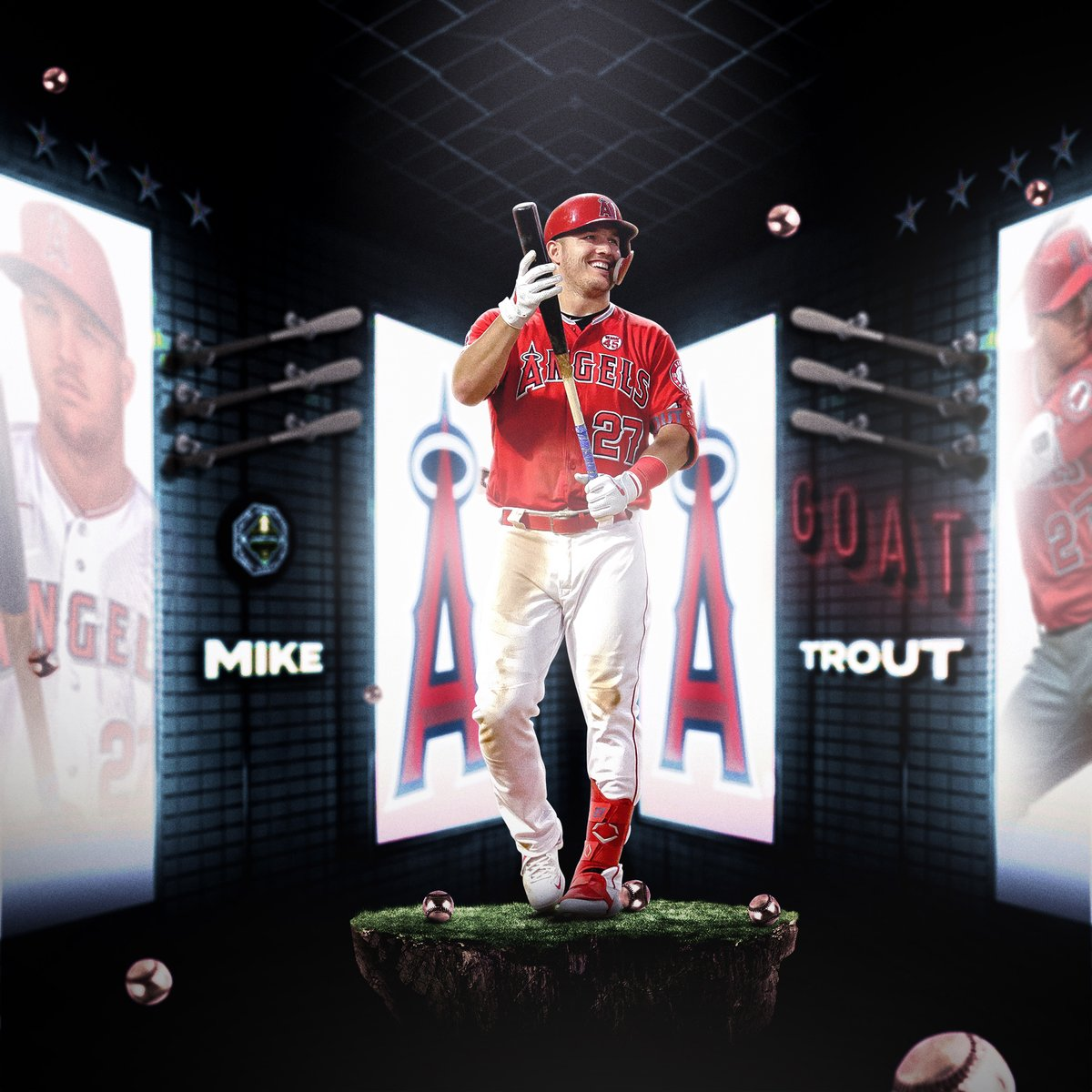The 🐐 is still in his 20s.   Happy 29th birthday to @MikeTrout! https://t.co/z69SfE3AaU