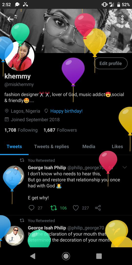 I'm grateful to God for the gift of life and the physical gift, it's my best yearHappy birthday to mepic.twitter.com/rT77Hiz5oJ
