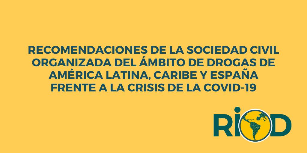 """test Twitter Media - La @RIOD_oficial la Unidad de Reducción de la Demanda de la @CICAD_OEA han realizado durante el mes de julio la iniciativa """"Conversando con la Sociedad Civil"""".  Aquí, las recomendaciones de la Sociedad Civil Organizada frente a la crisis de la Covid-19 👇  https://t.co/YOTL0uG7m4 https://t.co/1qkjKs7sP7"""