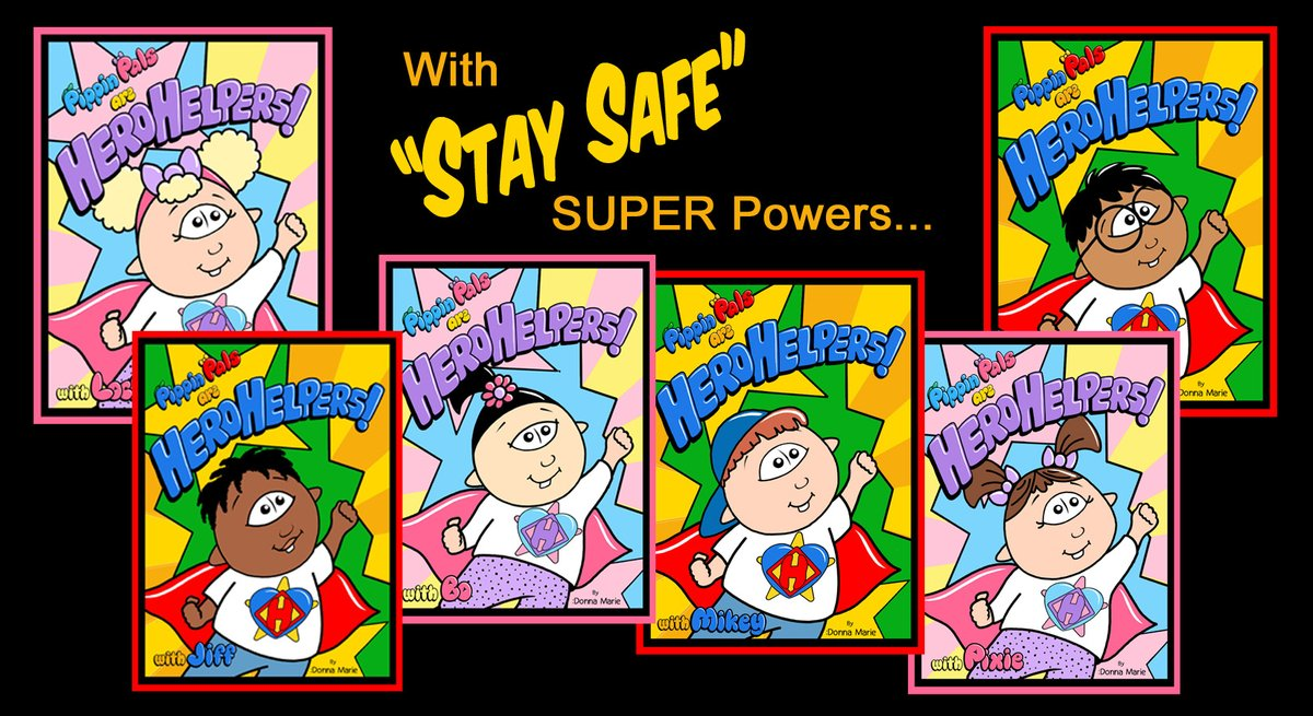 Pippin Pals has a Children's PICTURE BOOK to HELP CHILDREN UNDERSTAND & COPE w/the PANDEMIC. Plus WEBSITE w/kid-friendly DOWNLOADS for #WearAMask #WashHands #coloring & more! http://PippinHeroHelpers.com  Amazon: https://tinyurl.com/y5o8bdvk  #PippinPals #HeroHelpers #StayatHome  #Covid19pic.twitter.com/3UtKxOAXGm
