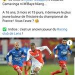 Image for the Tweet beginning: Deux légendes du football français