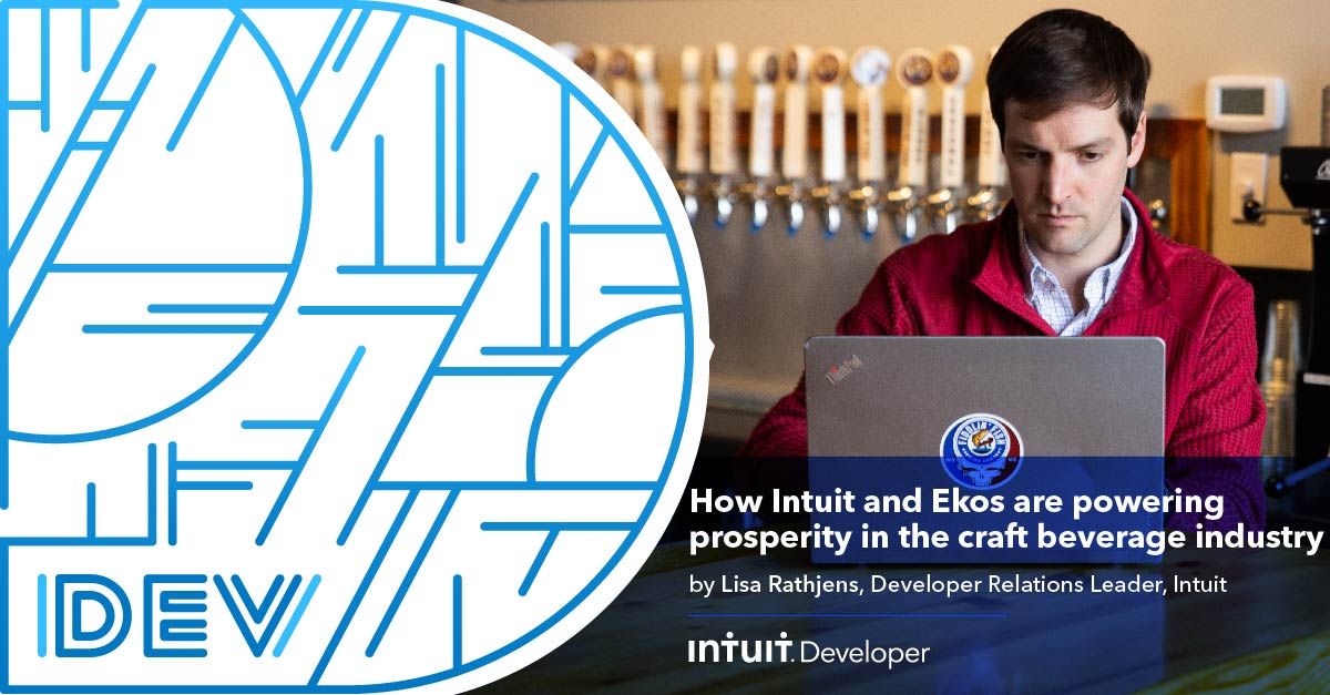We're thrilled that so many small businesses are benefitting from @go_ekos utilizing @Intuit's open API. See how leveraging new #technology is helping innovators in the craft beverage industry save 15-20 hours per week in #QuickBooks: https://t.co/ouuKRMdcw6 #IntuitTech https://t.co/deWCu2D0PR