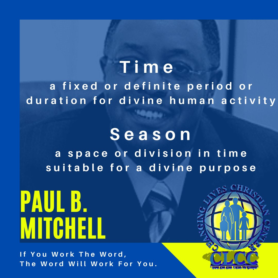 Know the difference... #TimingIsEverything #new #online #sermon #virtual #seat #season #time #opportunity #forward #thinking #PBM #power #statements #CLCC https://t.co/5baFrI2sok