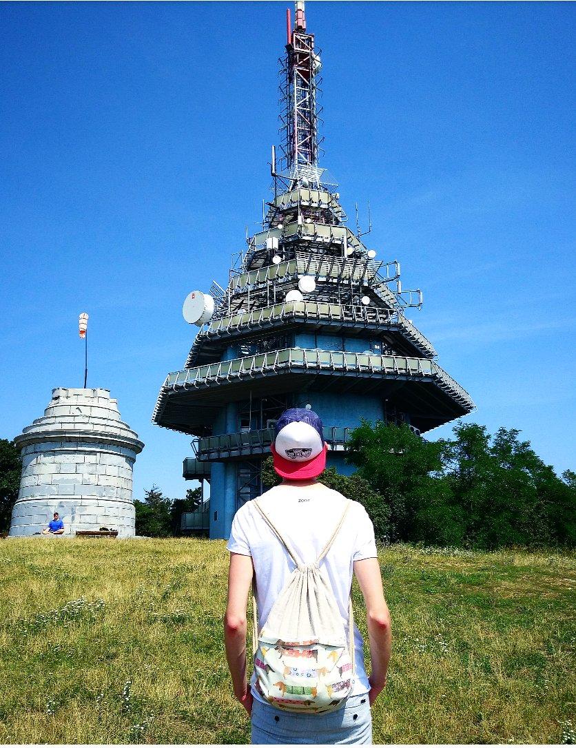 Jazvečíci na výlete. V týchto dňoch je to len dovolenka na Slovensku. Viete, kde som bol?  #travel #trip #nitra #slovakia #slovensko #tower #handmade #facebook #follow #boy #man #slovakboy pic.twitter.com/EprU5lcGVg