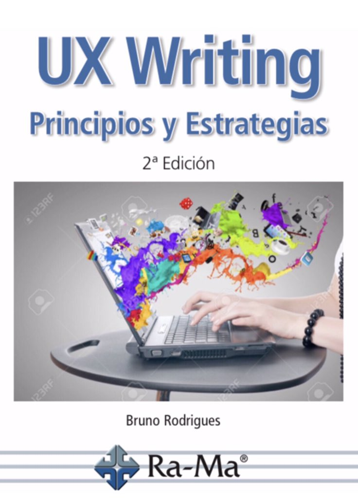 """UX Writing: Principios y Estrategias"", the spanish version of my UX Writing book, was published today in Spain and will also be distributed in Mexico and Latin America. Go, #UXWriting, go!  #ux #userexperience #españa #mexico #Latinoaméricapic.twitter.com/NmCAh34ZC6"