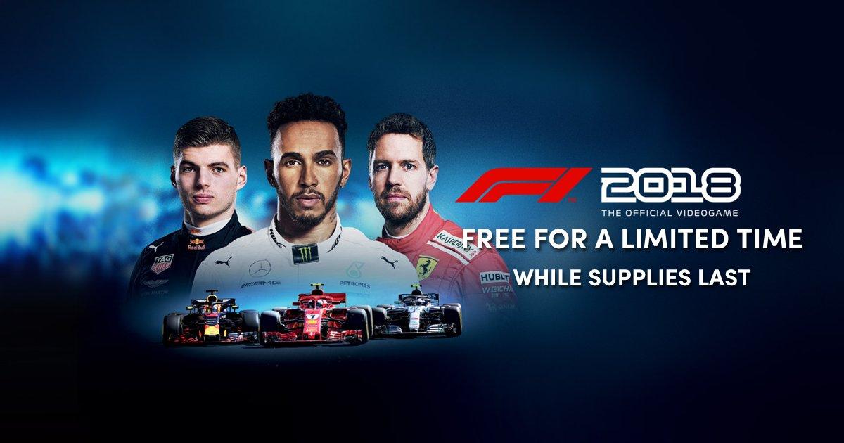 F1 2018 para Steam gratis