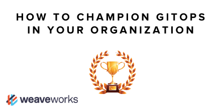 🤓 The Weaveworks DX team recently hosted a panel with 4 #K8s and #GitOps hands-on practitioners including @swade1987 @javeriak_ and others on how to champion #GitOps for self-service dev platforms in your org. Read the recap, watch the video. bit.ly/2XsPpCt