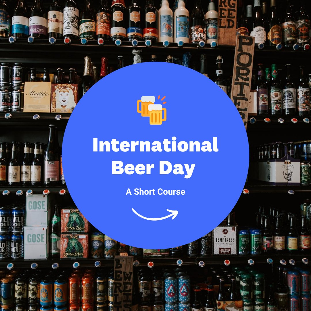 Happy #internationalbeerday! We made this course on some of our favorite beer types and a little history behind one of the oldest #beverages around. Click here to learn more: https://hubs.ly/H0tnYGv0pic.twitter.com/938qTcSWQP
