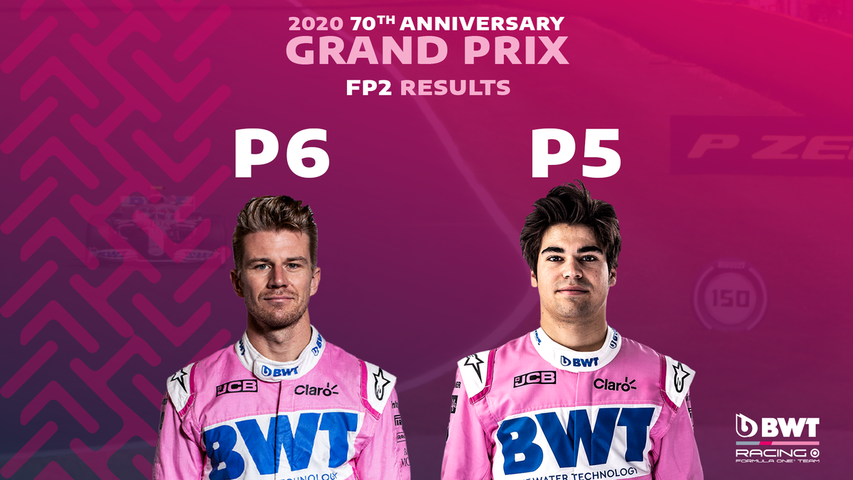 🟥 A red flag brings a slightly premature end to FP2, and this is how we finish...  🇨🇦 @lance_stroll P5⃣ 🇩🇪 @HulkHulkenberg P6⃣  #F1 #F170 https://t.co/ZqwijT2zv2
