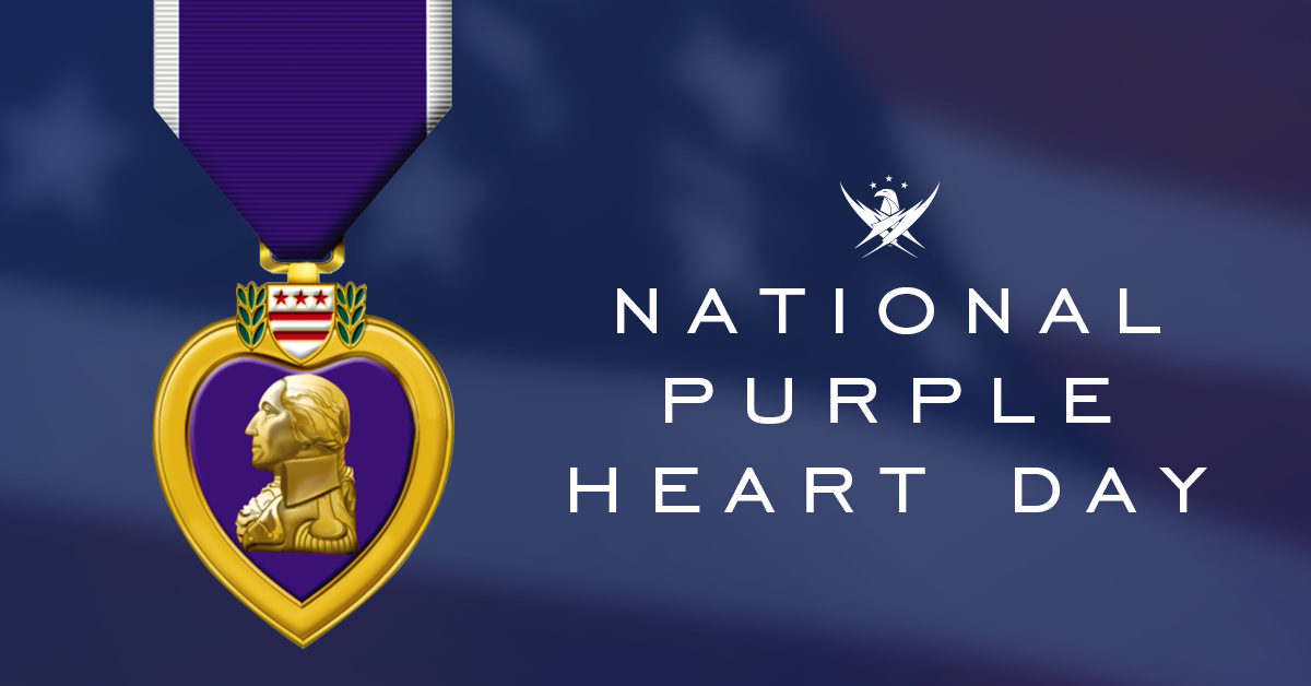 On #PurpleHeartDay, we recognize and pay tribute to our nations military men and women whose sacrifices and wounds in defense of liberty merited the nations oldest military award. To those living and deceased Purple Heart recipients, we are grateful for your service.