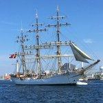 Image for the Tweet beginning: Corona-udbrud på Skoleskibet Danmark -