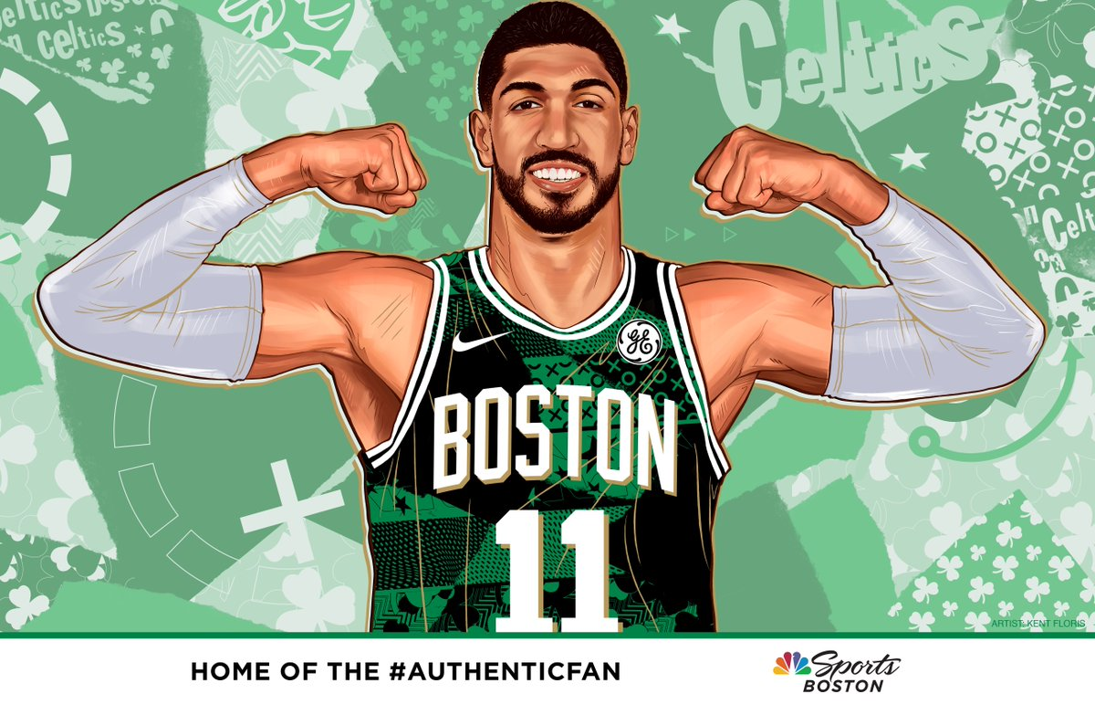 It's #AuthenticFan Friday! Download your @EnesKanter cheer card with the link below, print it out and cheer on your Celtics! Share photos tonight using #AuthenticFan.  Download it here:  https://t.co/vdpwbOPauL https://t.co/Qntd9Mi0ya