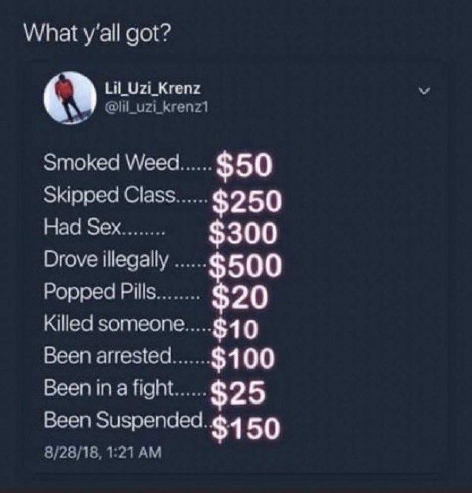 $1,405 🤪😳😹😂💀 https://t.co/yMxhQaeuwz