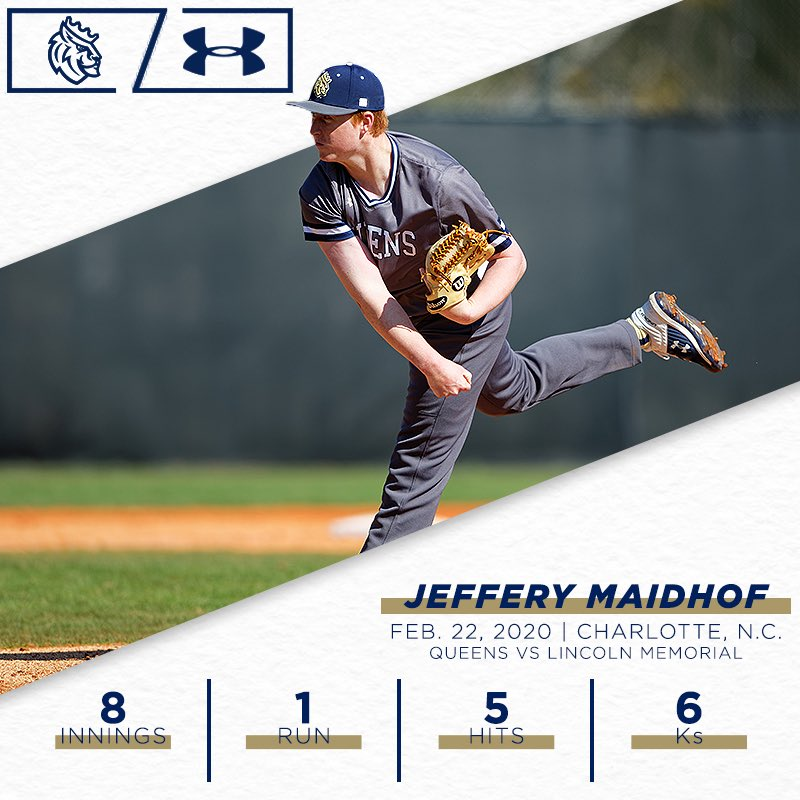 Righty Jeffery Maidhof turned in an ABSOLUTE GEM back in February, leading us to a weekend series win over LMU at The Tuck!  #FlashbackFriday #CuLTure pic.twitter.com/2WKXY8WdpW