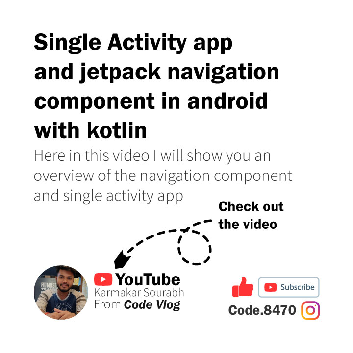 New video is up on the YouTube https://youtu.be/11TGZ0rw6Tg #android #androidstudio #4.0 #tutorial #androiddeveloper #appdevelopment #software #softwaredeveloper #lifeofadeveloper #constraintlayout #mvvm #databinding #view #widget #navigation #single #activity #googlepic.twitter.com/Iy1IZ2GHu2