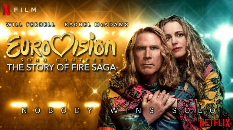 Eurovision Song Contest: The Story of Fire Saga - no actual #Eurovision  this year, so #WillFerrell and #RachelMcAdams will do. Here's my review: https://filmicforays.blogspot.com/2020/08/netflix-review-eurovision-song-contest.html… #DanStevens #EurovisionMovie  #MovieReview #filmreview #movies #movietwitpic.twitter.com/VdF6WGYN25