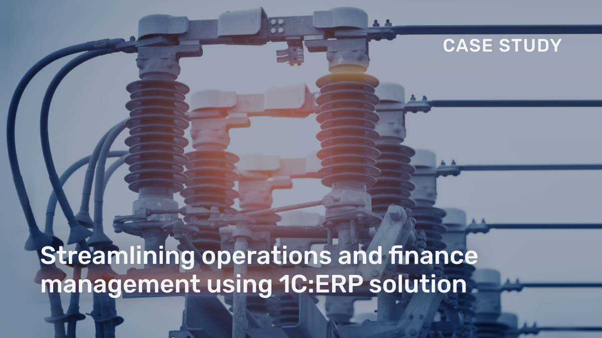 We've just published a new case study about 1C:ERP implementation in Tavrida Electric, a global provider of switching equipment and switchgear solutions.   Read the full story here https://1ci.company/31wYACK  #1Ci #1CiCustomerStories #1CERP #CaseStudy #ERP #BusinessAutomationpic.twitter.com/bId6SetIgl
