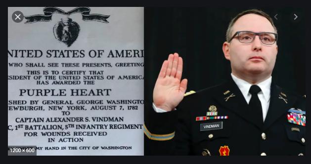 @realDonaldTrump yer trump  Lt. Col. Alexander Vindman earned one of those https://t.co/w0BrVbOlUQ