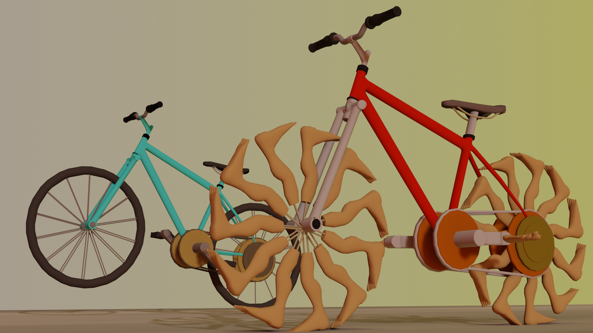 If you're interested in some free 3D bike game art, check out this @itchio freebie → http://ow.ly/9H3v50AR1eX  #free #gameart #gamedesign #mobilegames #indiedevpic.twitter.com/BHAeH7TFCr
