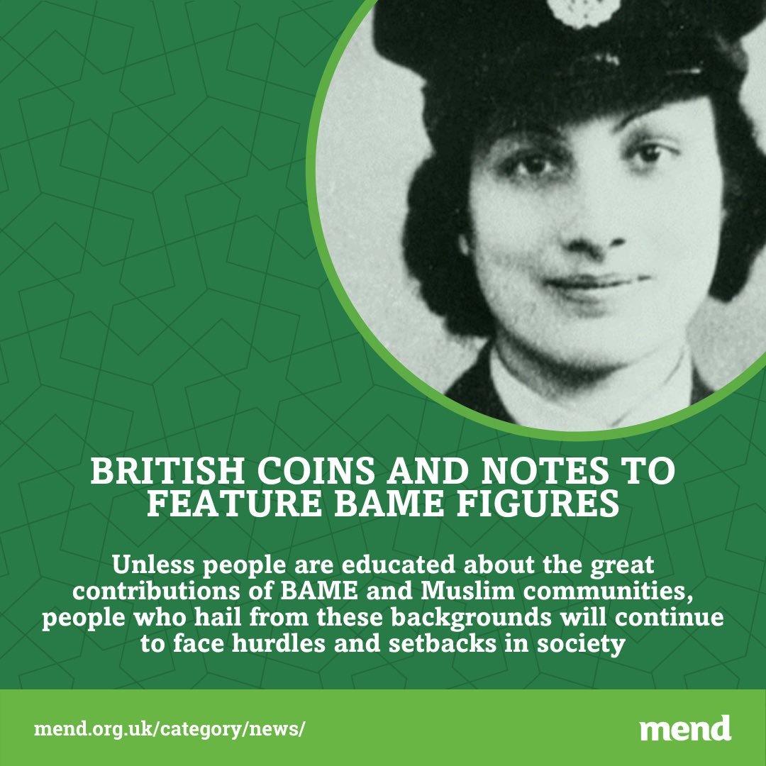 """""""The Chancellor, Rishi Sunak, has requested the Royal Mint design British coins & notes in a way to honour some of Britain's BAME figures."""" Read more: https://t.co/YJPGKPl0PK https://t.co/AECgFJctol"""