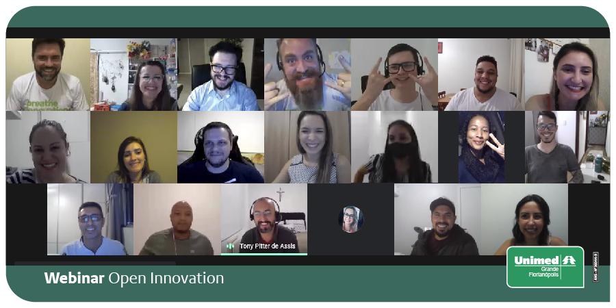 Inovação é isso… é engajamento, interesse e oportunidade para fazer diferente! E tudo isso sentimos ontem, no primeiro webinar sobre inovação aberta promovido para os nossos colaboradores. https://t.co/c67DOzhqSu