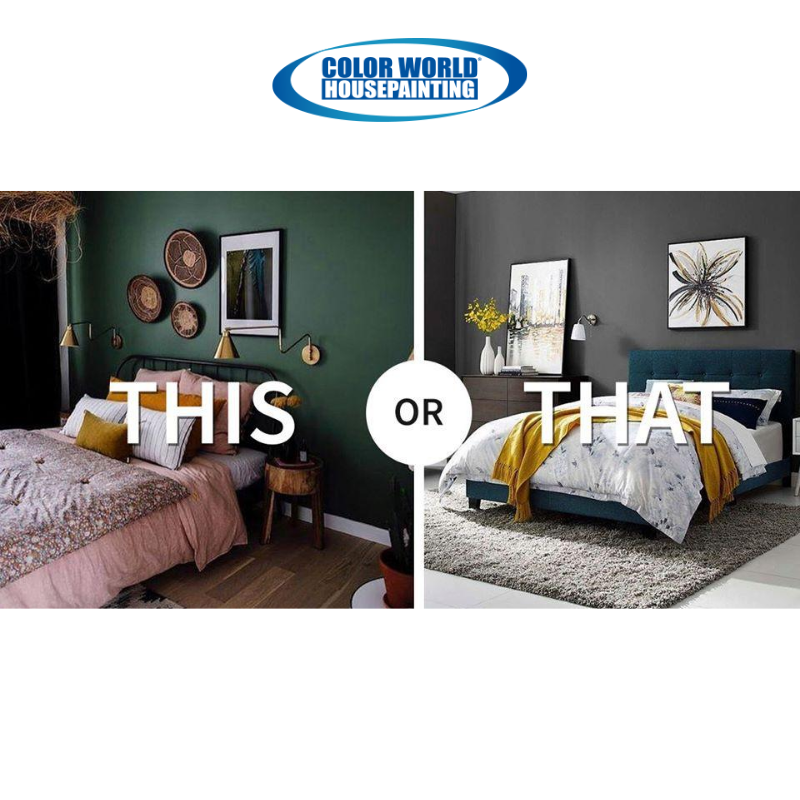 THIS or THAT: Which color would you choose for an accent wall? #ForthWorthPainters #ForthWorthHomes #ForthWorthTXpic.twitter.com/E8m0MFAG9h