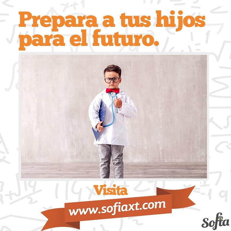 Con Sofía XT tus hijos tendrán un mayor nivel académico gracias al incremento del aprendizaje matemático. ¡Súmate a la diversión! #ReprobeMate #LoveMatepic.twitter.com/8MQ6BMC9do
