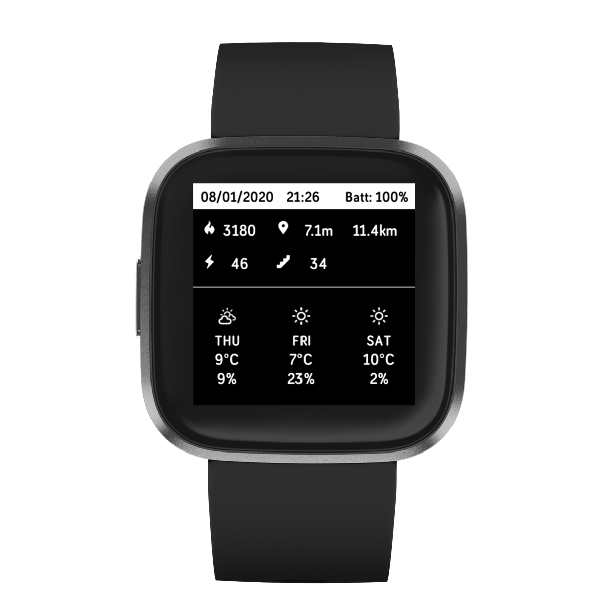 http://www.watchfacestore.com/fitbit has amazing #fitbit #watchfaces. Get to know the 4 Day Stretch. View your stats for Steps for today and the previous 3 days right from the watchface. 7 Day average and total..#fitbitversa2 #fitbitversa #fitbitionic #fitness #made4fitbit #clockface #watch…pic.twitter.com/iaUX7qc6FX