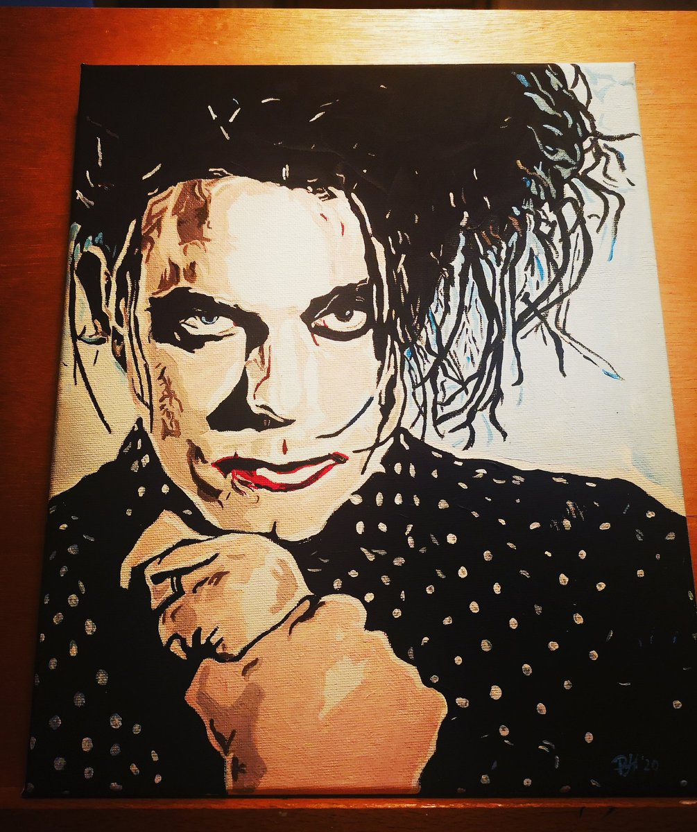 Finished my Robert Smith #robertsmith #thecure #goth #portrait #painting #art #portraitpainting #drawingaugustpic.twitter.com/lmByAyJicC