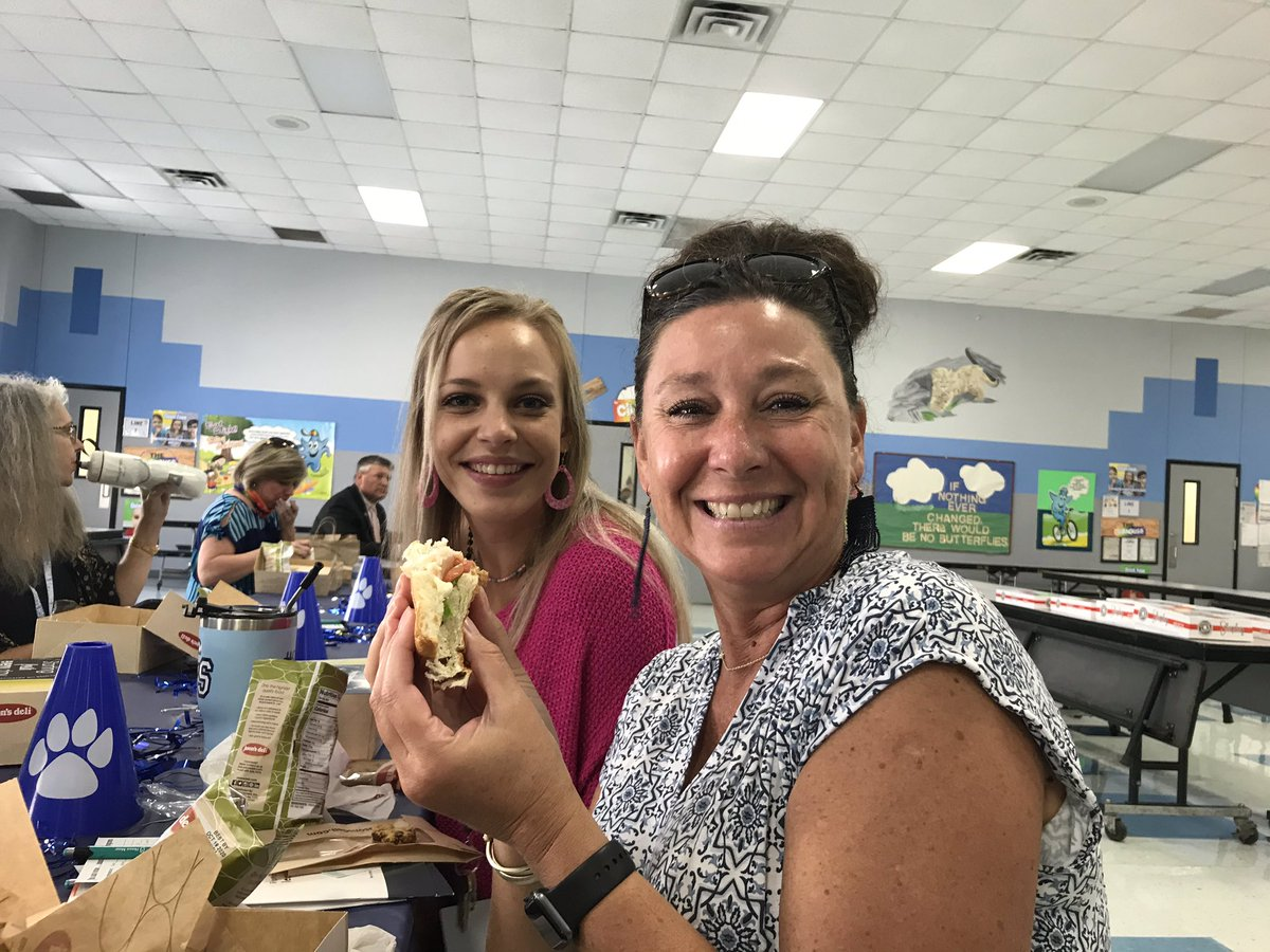 Thank you @HoraceMann for the yummy lunch for our Mentor/Mentee New Teacher Orientation. #ourWHY