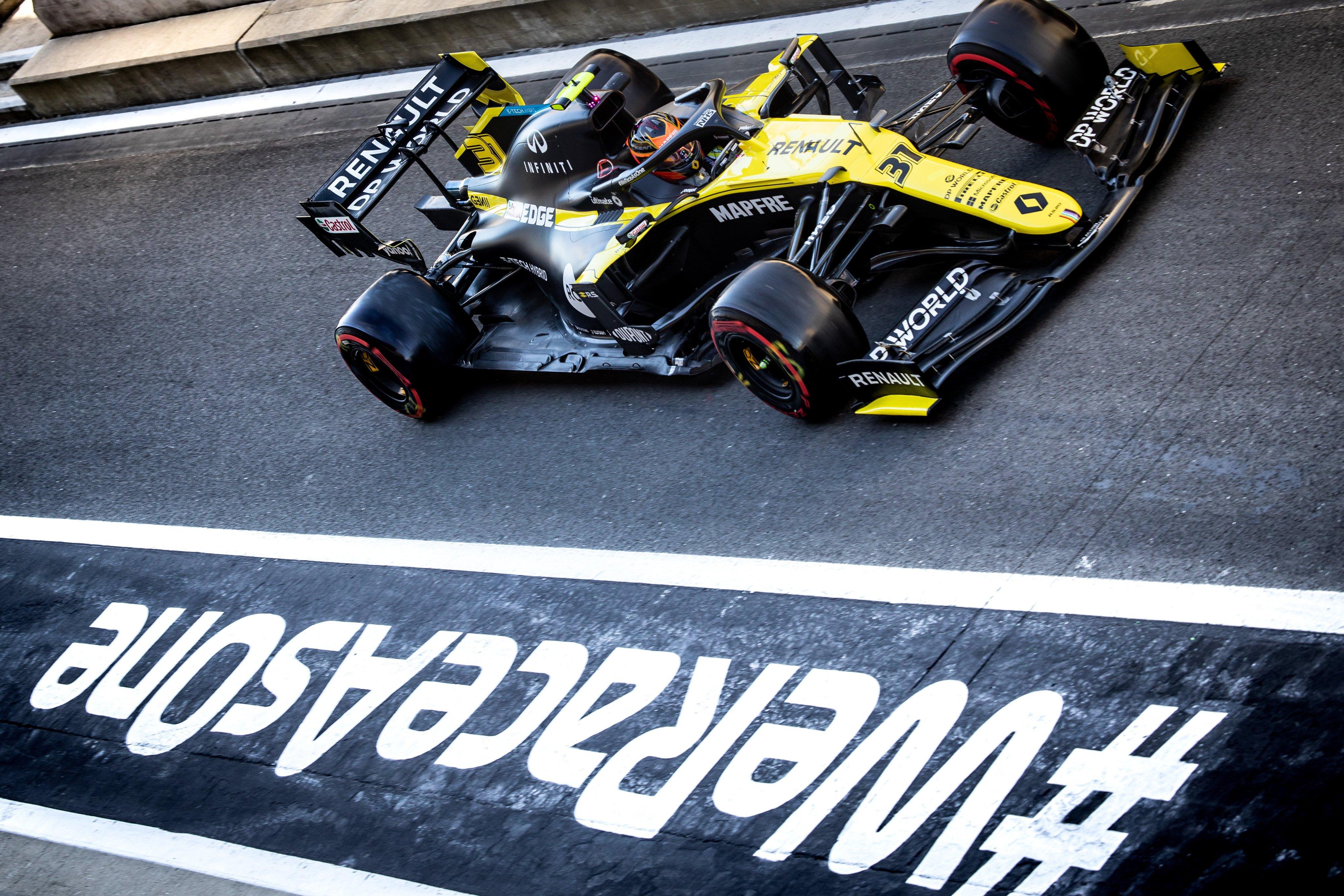 Silverstone 2020 Libere Renault