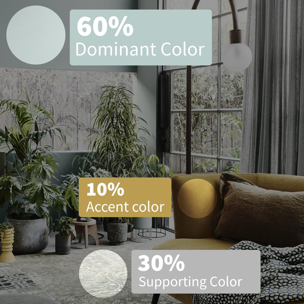 Design tip: Follow the 60-30-10 Rule! #SarasotaHomes #SarasotaPaint #HomeInspiration #SarasotaFLpic.twitter.com/fRWYLJp2fT