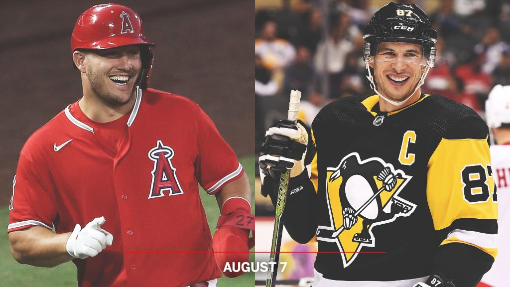Sidney Crosby and Mike Trout share a birthday today 🎈  Here are some other star athletes who were born on the same day: https://t.co/fjh5FNPPvZ