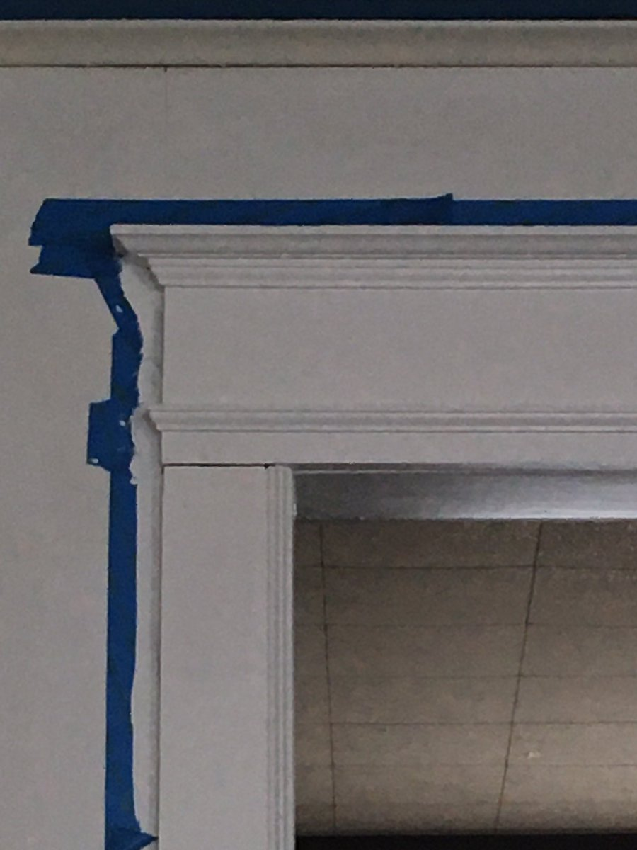 Painting the walls after nearly 20 years.... The trim looks so clean now! #housepainting pic.twitter.com/k4c2QmR170