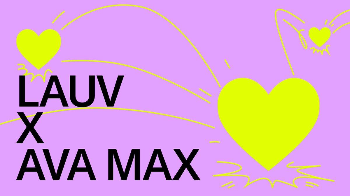 lauv.lnk.to/lauvx @AvaMax