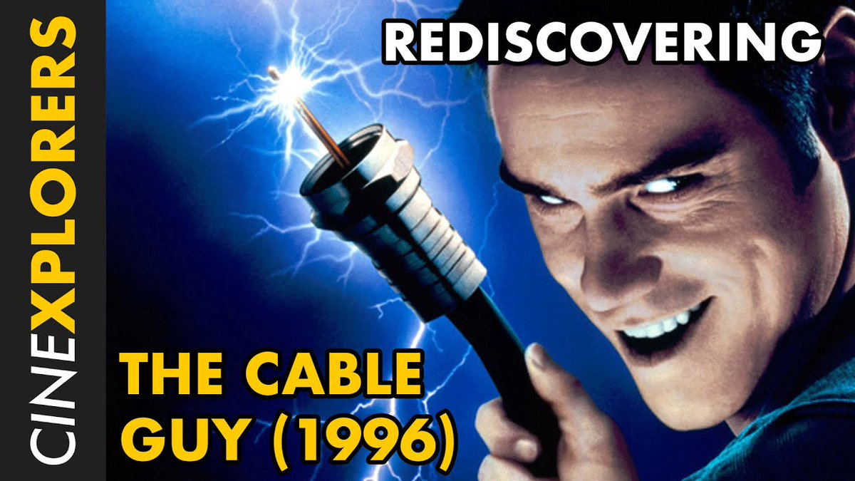 This underrated comedy gem has recently hit #amazonprime so we take a look back at the tale of a lonely cable guy who just wants to make a friend, played with manic gusto by Jim Carrey.   #FilmTwitter #YouTube #90smovies #JimCarrey #BenStiller https://youtu.be/jkQOC6CLqbUpic.twitter.com/pCpgKppYt5