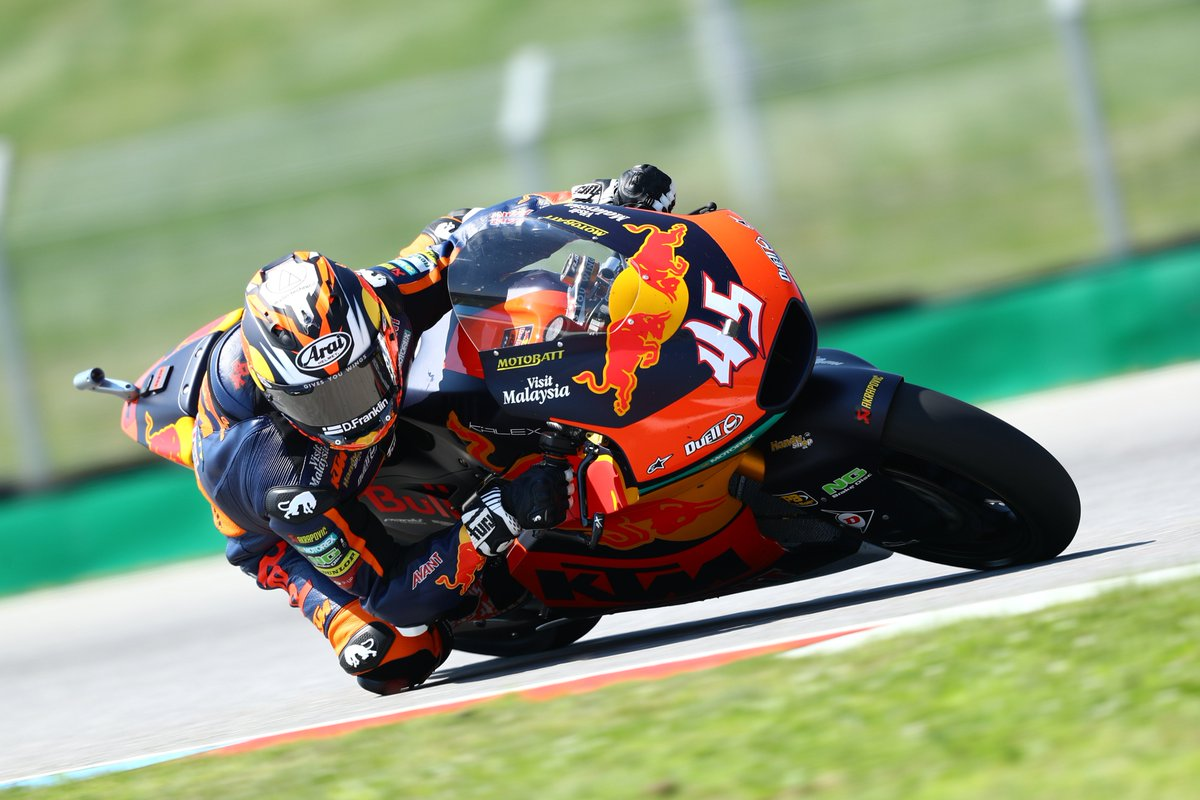 📄 Tough opening day for Red Bull KTM Ajo Moto2 at #CzechGP.  👉 https://t.co/sSmTBDU7HQ  #GivesYouWings #ReadyToRace #MotoGP #AjoMotorsport #AjoFamily https://t.co/OWvdbPVEif