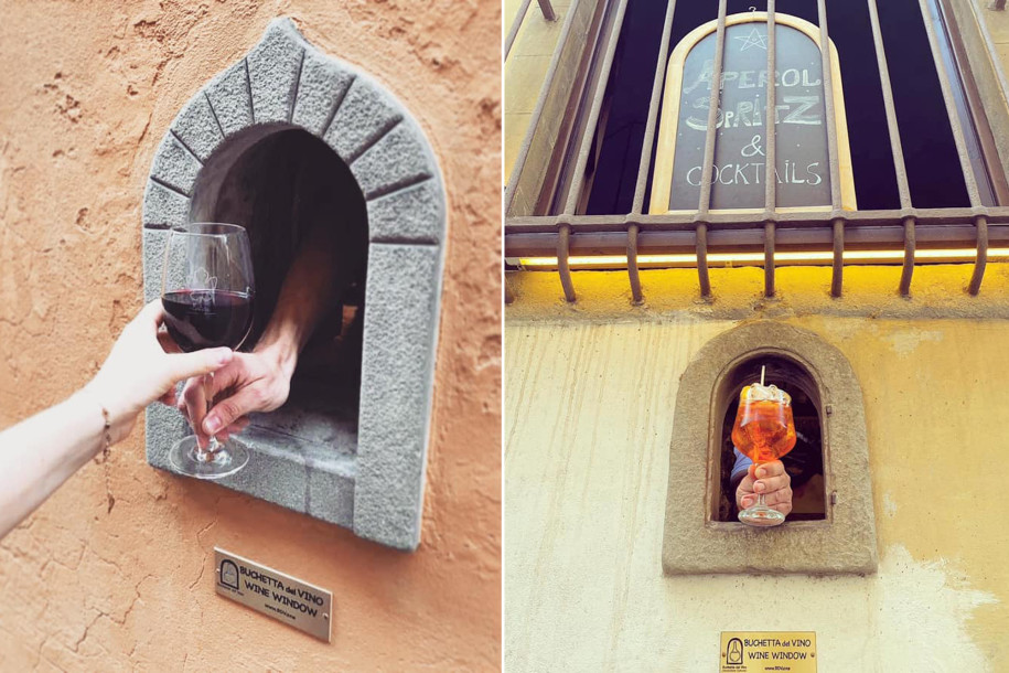 Tuscany is reopening their medieval 'wine windows', reviving Italian plague tradition in the midst of the coronavirus pandemic: https://t.co/JwahDv5WLT. #winewindow #buchettedelvino #italy #tuscany #toscana https://t.co/Eu5Vu2baI8