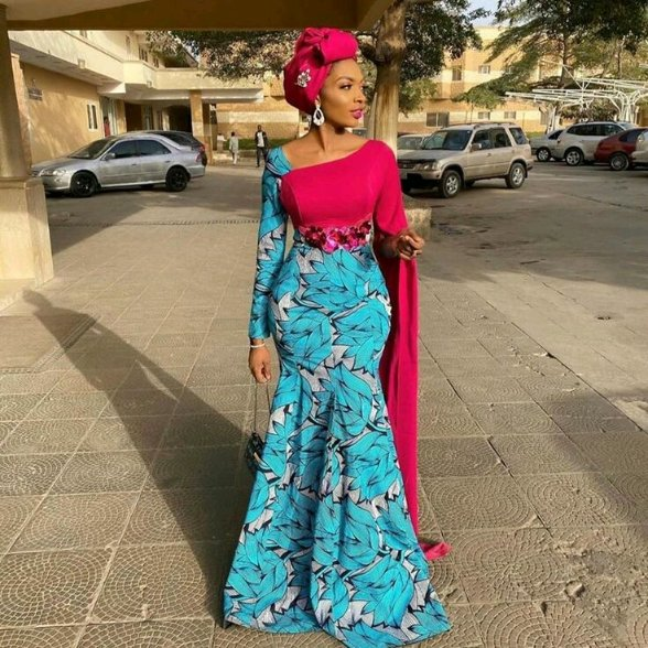 What can't you sew with Ankara #FashionAddict  #FashionAndStylez  Something light and sassy for that owambe pic.twitter.com/qfniRLY84x