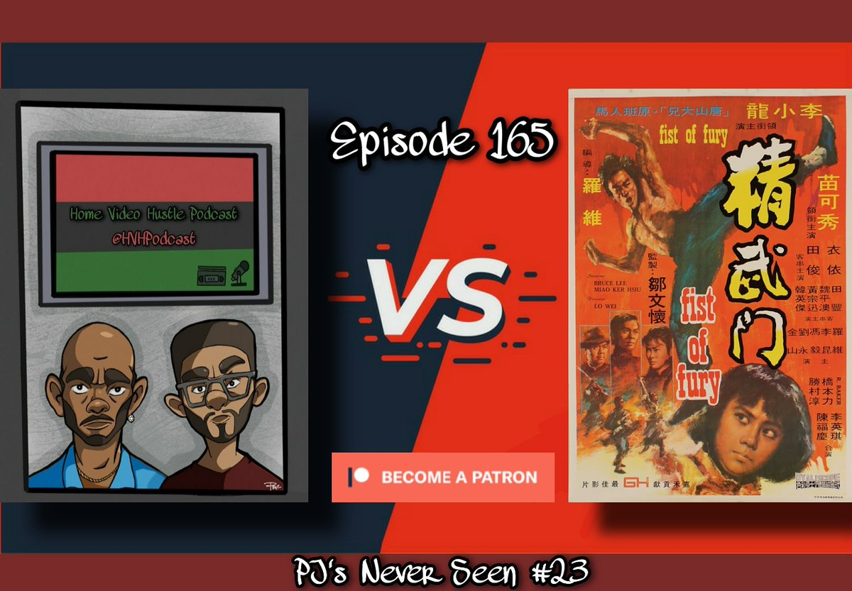NEW EPISODE!  @PaulyPj wanted to continue with the #BruceLee movies so for the FIRST TIME he's watching #FistOfFury.   https://open.spotify.com/episode/0XxCRO4pYW73jdarh04eef?si=tgY1aBUMSQSXSpFSSBZdSw …  #HVHPodcast #PodsInColor #PodernFamily #MoviePodSquad #FilmTwitter #BlackTwitter #MovieReview #Movies #AgeOfRadio #Podcast #Criterionpic.twitter.com/PjRaeJ41Rf