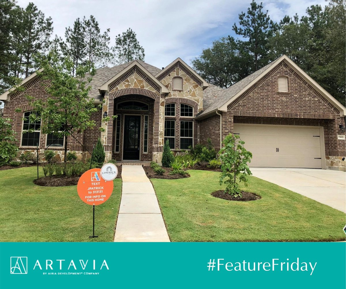 #FeatureFriday with @jpatrickhome! Text JPATRICK to 313131 to learn all about this beautiful home at 17413 Orchard Falls Lane! View more: https://artaviatx.com/builders/j-patrick-homes/ … #ARTAVIATX #LiveColorfully #ConroeTX #ConroeRealEstate #ConroeISD #JPatrickHomespic.twitter.com/0kOC898jLd