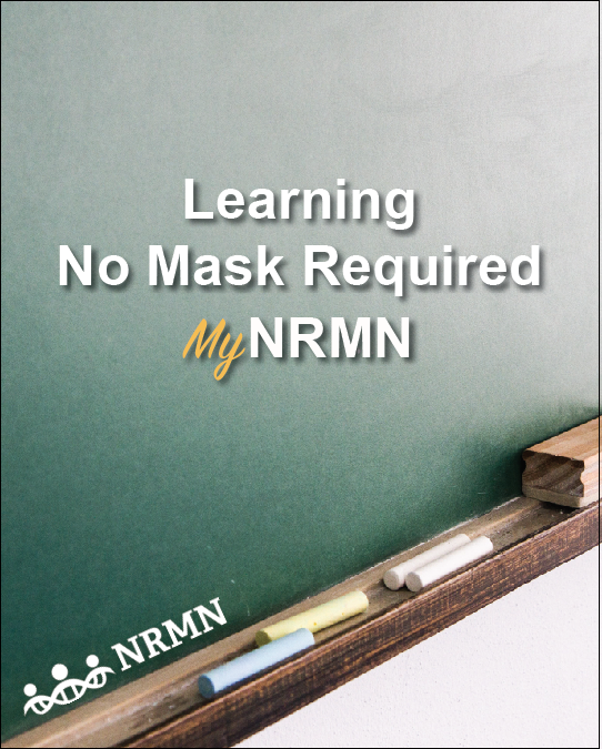 """MyNRMN provides a space for growth and learning through mentoring and networking, without the need for a mask.  We'll see you there!"""" Link:  https://t.co/hMkCwvAZTs   #Mentoring #NRMNmentoringMatters @NIHdpc @NIH #FridayMotivation #virtuallearning #unconsciousbias #MyNRMN https://t.co/XpAbNbVbZO"""