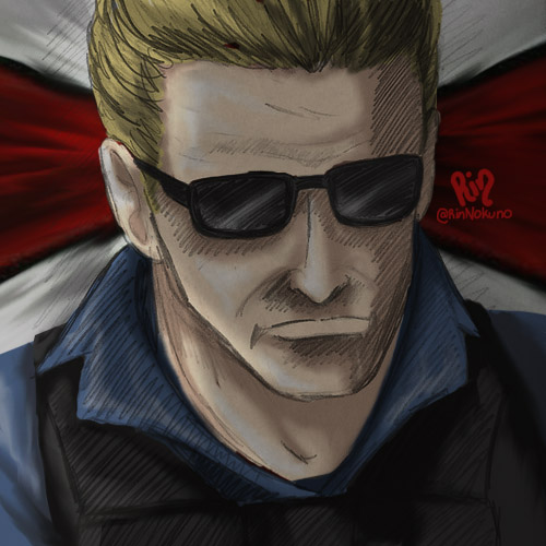 Decided to add colors to an old sketched commission. #ResidentEvil #albertwesker #Biohazard #バイオハザードpic.twitter.com/x940Iy7I4w