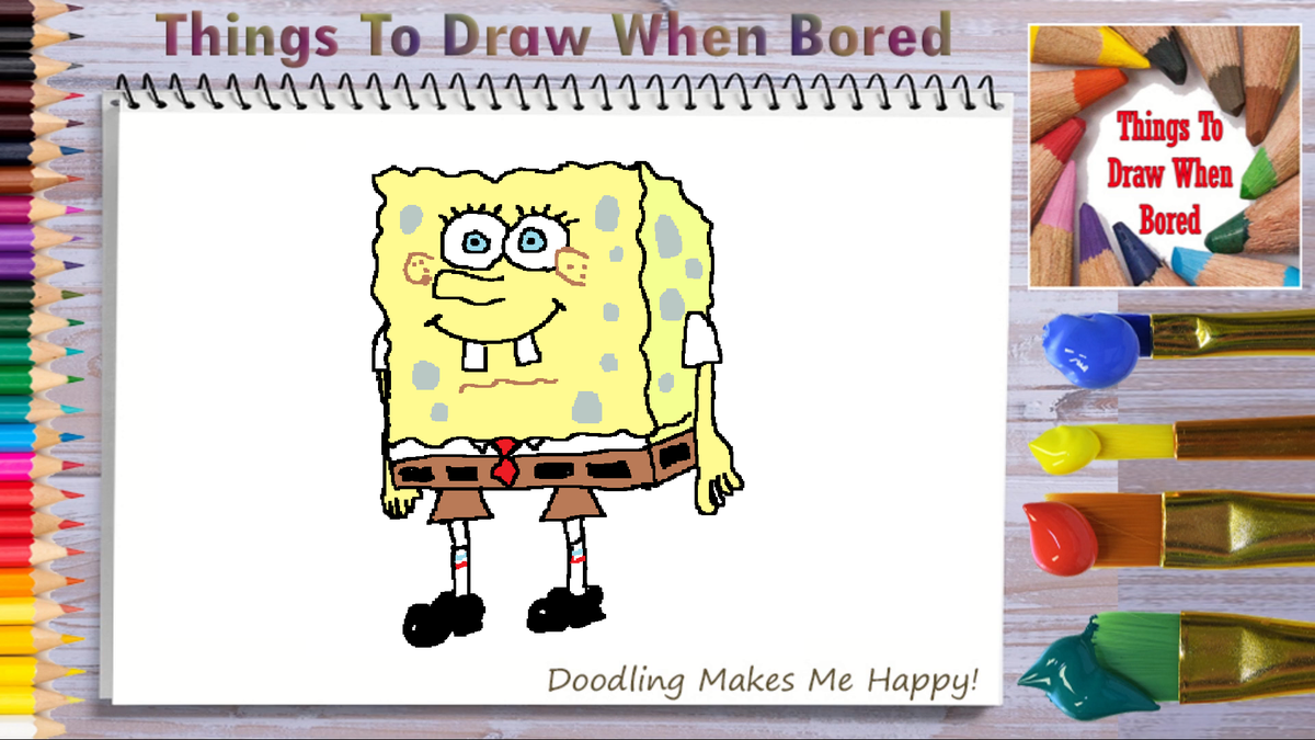How To Draw Spongebob ( Things To Draw When Bored - Spongebob )  *** PLEASE: Share This Link!  *** https://youtu.be/ENcovLjK9wk  #spongebob #spongebobmemes #spongebobsquarepants #funny #howtodoodleart #howtodraw #thingstodraw #cartoon #drawingaday #drawingdaily #drawingeverydaypic.twitter.com/tqjzelDl4L